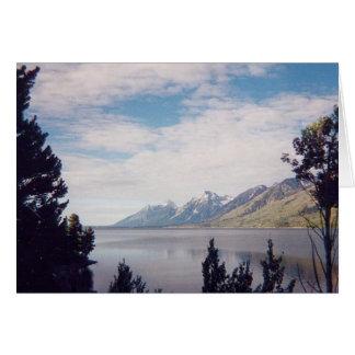 Grand Tetons National Park Card