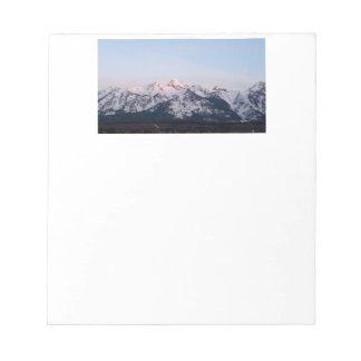 Grand Tetons Notepad