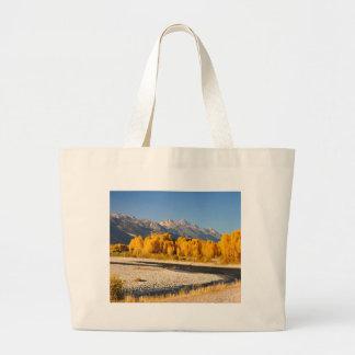 Grand Tetons on the Snake River Bags