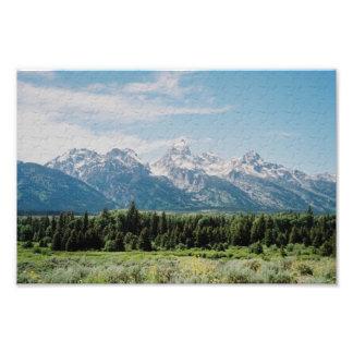Grand Tetons Park Photo Print