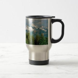 Grand Tetons Park Travel Mug