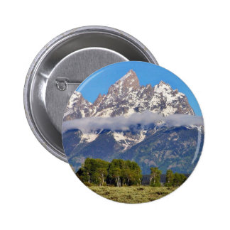 Grand Tetons Peaks In The Morning Pinback Buttons