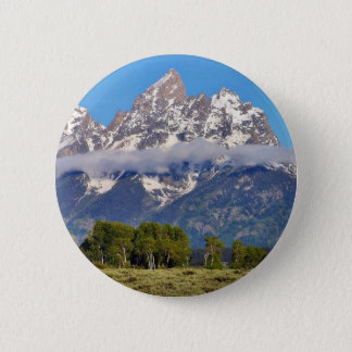 Grand Tetons Peaks In The Morning Pinback Button