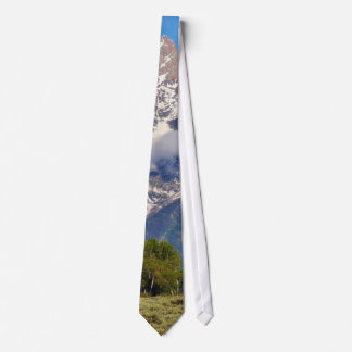 Grand Tetons Peaks In The Morning Tie