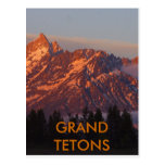 Grand Tetons Postcard