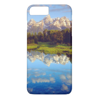 Grand Tetons reflecting in the Snake River iPhone 7 Plus Case
