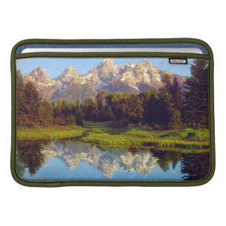 Grand Tetons reflecting in the Snake River MacBook Air Sleeve