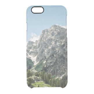 Grand Tetons Rocky Ledges Clear iPhone 6/6S Case