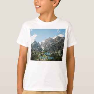 Grand Tetons Rocky Ledges T-Shirt