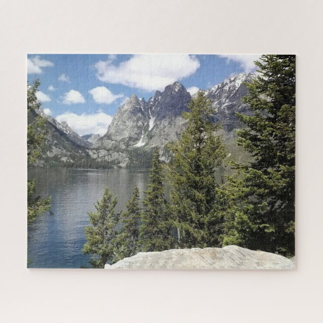 Grand Tetons Scenic View Design Puzzle