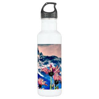 Grand Tetons Stainless Steel Water Bottle
