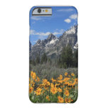 Grand Tetons with Yellow Flowers iPhone 6 Case