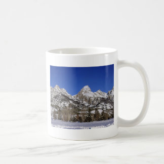Grand Tetons, WY Winter Coffee Mugs