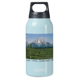 Grand Tetons- Wyoming Insulated Water Bottle