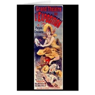 Grand Theater Ad 1899 Card