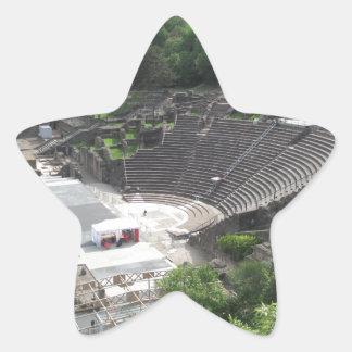 Grand Theater, Lyon Amphitheater, Roman | France Star Sticker