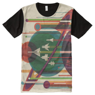 Grand Tour NASA Travel Poster All-Over Print Tee