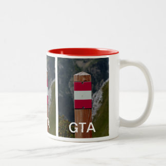 Grand Tour of the Alps Trail Marker, GTA Mug