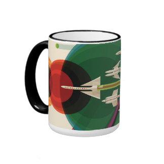 Grand Tour - Retro NASA Travel Poster Coffee Mug
