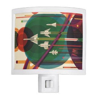 Grand Tour - Retro NASA Travel Poster Nite Light