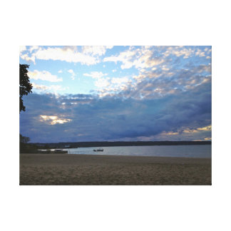 Grand Traverse Bay, Michigan Printed Canvas #2 Canvas Print