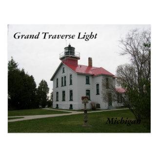 Grand Traverse Light, Michigan Postcards