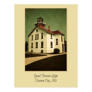 Grand Traverse Light Postcard