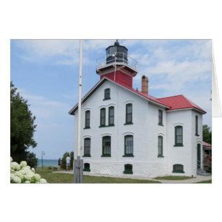 Grand Traverse Lighthouse Card