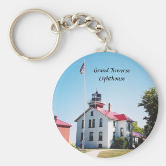 Grand Traverse Lighthouse Keychain