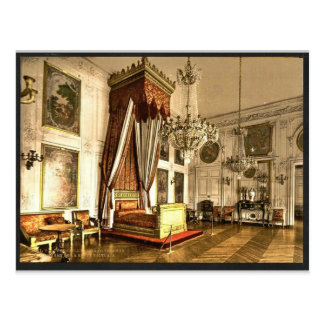 Grand Trianon, chamber of Queen Victoria, Versaill Postcard