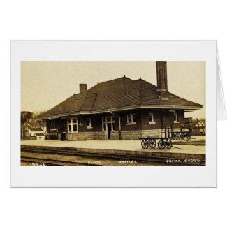 Grand Trunk Depot Pontiac Michigan card