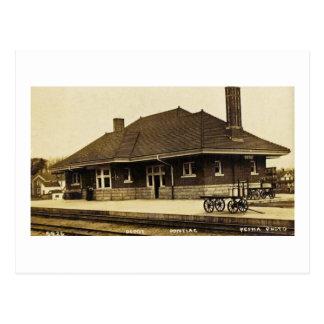 Grand Trunk Depot Pontiac Michigan Post Card