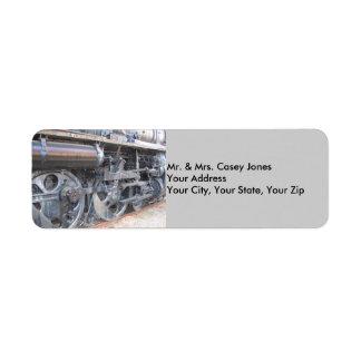 Grand Trunk Locomotive Label