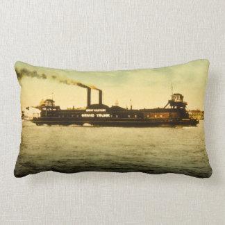Grand Trunk Railroad Antique Vintage Postcard Pillow