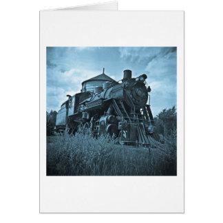 Grand Trunk Railroad Engine #18 Card