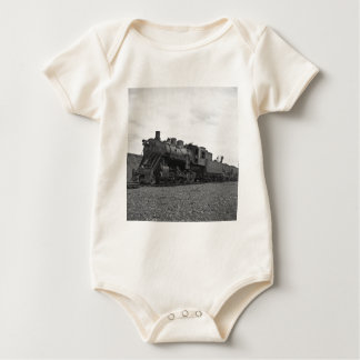 Grand Trunk Railroad engine #20 at Port Huron Baby Bodysuit