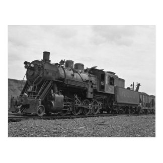 Grand Trunk Railroad engine #20 at Port Huron Postcard
