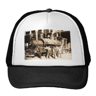 Grand Trunk Railroad Shop & Crew  - Vintage Trucker Hat