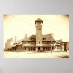 Grand Trunk Railway Depot, 1903 Poster