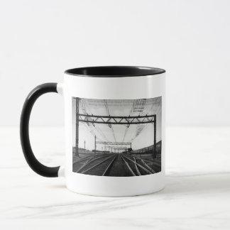 Grand Trunk Railway Yards Vintage Port Huron MI Mug