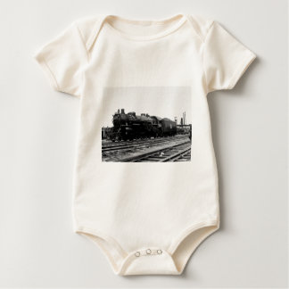 Grand Trunk Western #3753 (2-8-2) Baby Bodysuit