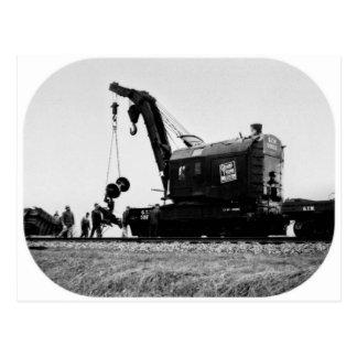 Grand Trunk Western Crane # 50032 Postcard