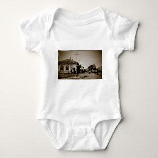 Grand Trunk Western Depot St. Johns MI 1912 Baby Bodysuit