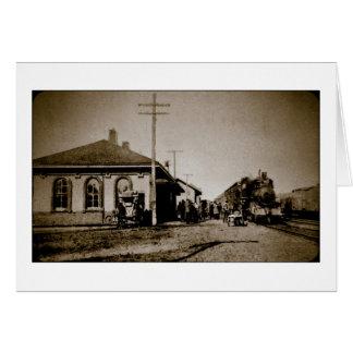 Grand Trunk Western Depot St. Johns MI 1912 Cards