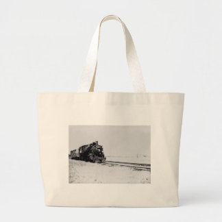 Grand Trunk Western Engine #5042 Large Tote Bag