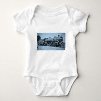 Grand Trunk Western Engine #5633 Baby Bodysuit
