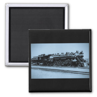 Grand Trunk Western Engine #6334 2 Inch Square Magnet