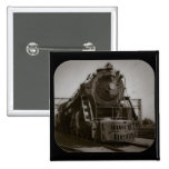 Grand Trunk Western Engine #6335 2 Inch Square Button