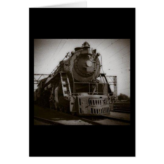 Grand Trunk Western Engine #6335 Card