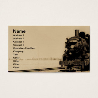 Grand Trunk Western Engine No. 5042 Business Card